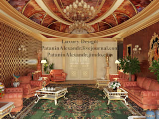 Majlis. Мэджлис. Гостиная в азиатском стиле от Patanin Luxury Design Азиатский