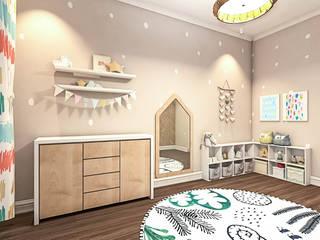 Toprak Bebek Odası Atölye Teta İç Mimarlık Modern
