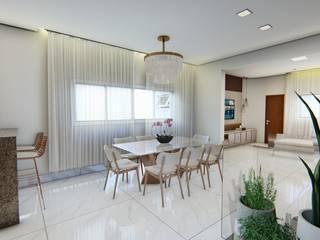 Casa Residencial Salas de jantar clássicas por Fark Clássico
