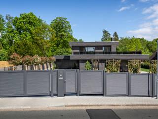 Nordzaun JardinesCercos y muros Aluminio/Cinc Gris