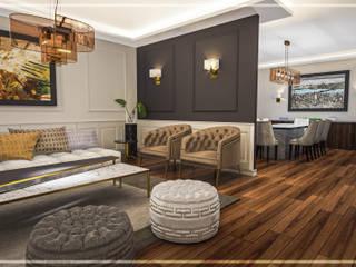 Riyad Jİ Evi Modern Oturma Odası Atölye Teta İç Mimarlık Modern