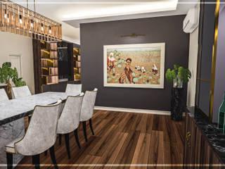 Riyad Jİ Evi Modern Yemek Odası Atölye Teta İç Mimarlık Modern