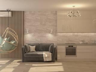 Экостиль с подвесным креслом Кухня в скандинавском стиле от Кристина Швецова - дизайн с душой Скандинавский