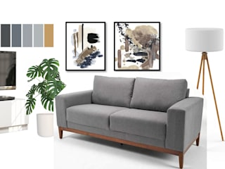 Modern living room by Shirley Palomino Modern