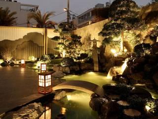 Thiết Kế Vườn Nhật Biệt Thự Sân Vườn – Tân Phú, TP.HCM bởi SGL LANDSCAPE ARCHITECTURE CO.,LTD Châu Á