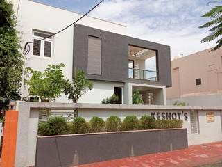 The Box House Design Shelve Bungalows Bricks Grey