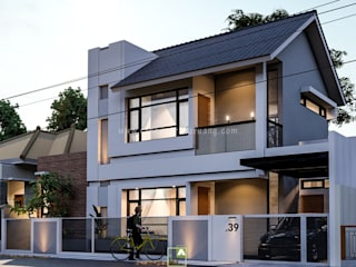 FRN House - Rumah Bapak Frans Sarasak - Furia, Jayapura Oleh Rancang Reka Ruang Industrial