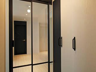 풍납동 씨티극동 24py 모던스타일 복도, 현관 & 계단 by Design Daroom 디자인다룸 모던