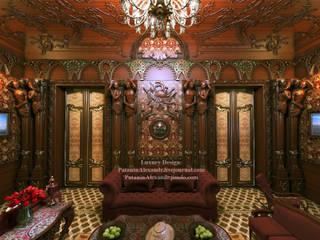 Mansion. Living room. Особняк. Гостиная. Гостиная в классическом стиле от Patanin Luxury Design Классический