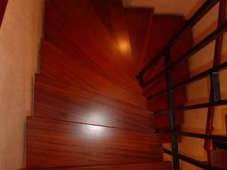 Blockstufe Laminat von Treppenrenovierung