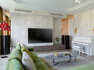 Modern living room by MULTIFORME® lighting Modern