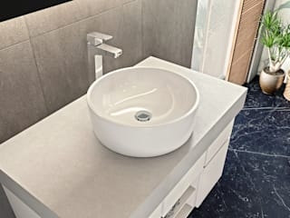 HELVEX SA DE CV BathroomSinks Ceramic White