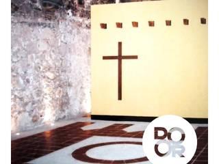 PROYECTOS Salones minimalistas de DOOR arquitectos Minimalista
