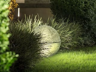 Besondere Gestaltung durch Außenbeleuchtung lights4life GmbH & Co.KG GartenBeleuchtung Glas Grün