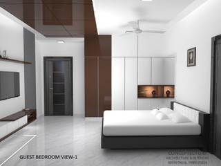 Interiors For a Villa by CONCEPTECTURE- architecture & interiors Modern