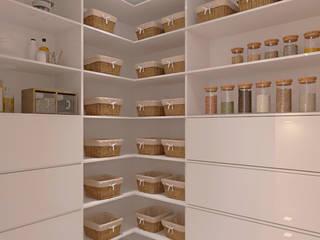 Diseño para apartamento Closets de estilo moderno de Diaf design Moderno