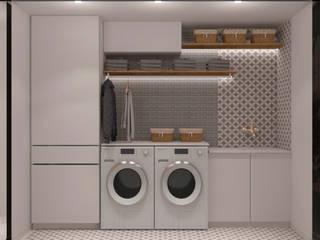 Diseño para apartamento Cuartos de estilo moderno de Diaf design Moderno