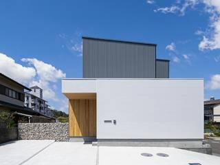 キリコ設計事務所 Дерев'яні будинки Білий