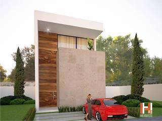LA TRINIDAD Casas modernas de HHRG ARQUITECTOS Moderno