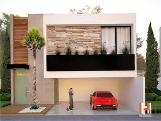 Modern houses by HHRG ARQUITECTOS Modern