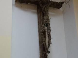 Арт-инсталляция ''Иисус Христос. Я страдаю больше, чем ты думаешь. Студия Довбыш от Студия Довбыш Рустикальный