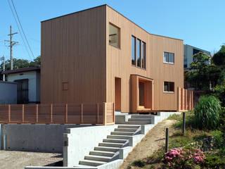 愛宕山の家 の a.un 建築設計事務所 北欧