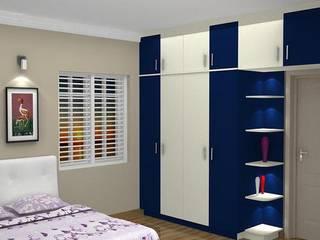 Interior decorators in Chennai. by Blue Interior Designs Modern