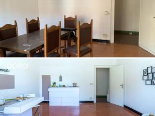 Home Staging appartamento non abitato in zona Sud di Roma di 𝗗𝗢𝗠𝗨𝗦𝘁𝗮𝗴𝗶𝗻𝗴 𝑑𝑖 𝑀𝑎𝑟𝑧𝑖𝑎 𝑀𝑜𝑠𝑐𝑎𝑟𝑑𝑖