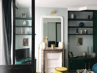 Paris XVII Salon original par VSD / VERONICA SOLARI DESIGN Éclectique