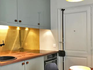 Paris XVII Cuisine originale par VSD / VERONICA SOLARI DESIGN Éclectique