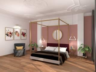 Master Bedroom Interiors Dynasty Asian style bedroom