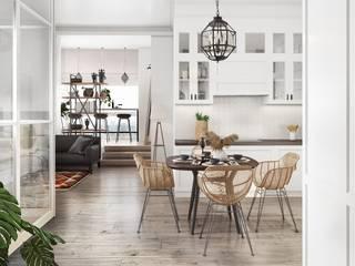 GraniStudio Eclectic style kitchen