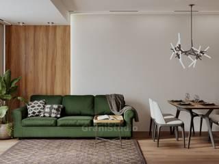 GraniStudio Livings de estilo ecléctico