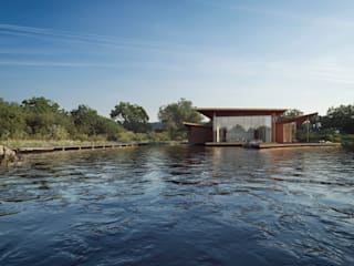 Floating House by AR Design Studio Сучасний