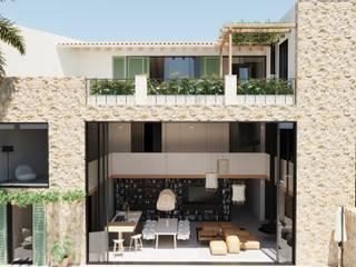 Reforma casa rustica Can PEP, Palma de Mallorca. ponyANDcucoBYgigi Casas de estilo mediterráneo