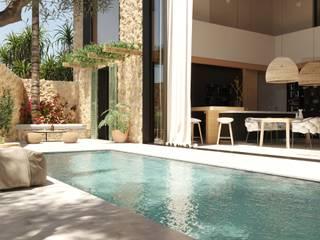 Reforma casa rustica Can PEP, Palma de Mallorca. ponyANDcucoBYgigi Piscinas de estilo mediterráneo