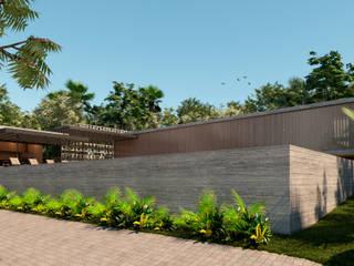 AVR Studio Arquitetura Rumah pedesaan