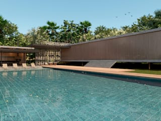 Projeto Residencial - Condomínio Quinta da Baroneza por AVR Studio Arquitetura Moderno