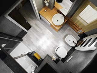 Fanchini Roberto architetto - Archifaro Modern bathroom