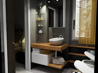 Modern Bathroom by Fanchini Roberto architetto - Archifaro Modern