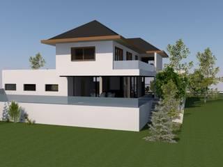 CASA PRP - ANDALUE Casas estilo moderno: ideas, arquitectura e imágenes de Sociedad Comercial & Ingeniería ING Spa. Moderno