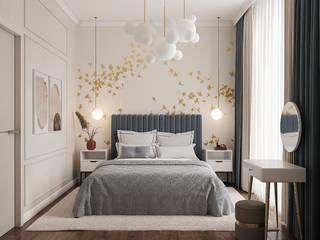 Спальня Спальня в стиле минимализм от Design-icon Минимализм