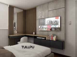 Tullpu Diseño & Arquitectura Dormitorios de estilo moderno Marrón