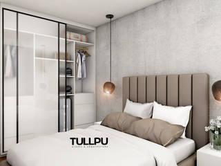 Tullpu Diseño & Arquitectura Moderne Schlafzimmer Braun