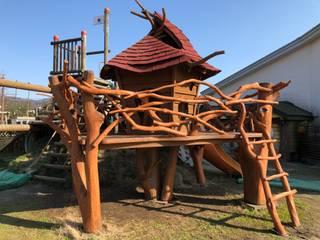 木製遊具 オリジナルな学校 の 株式会社Omnibus オリジナル