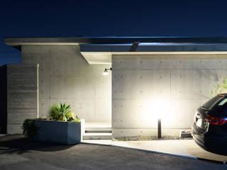 回廊のある家 風景のある家.LLC 一戸建て住宅
