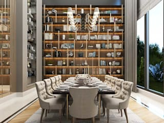 Almaty Villa Sia Moore Archıtecture Interıor Desıgn Modern Dining Room