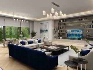 Almaty Villa Sia Moore Archıtecture Interıor Desıgn Modern Living Room