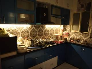 Mr. Verma's Modular Kitchen: asian  by Grace Decore,Asian