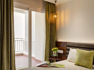 Royal Regalia, Jaipur Modern style bedroom by Studio BluOra Modern